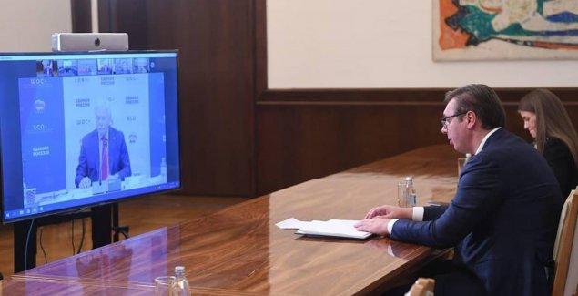 Vučić na forumu Šangajske organizacije za saradnju
