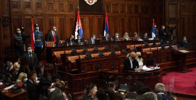 """(UŽIVO) """"NEMAMO POJMA KO IGRA ZA PARTIZAN I ZVEZDU"""" Rasprava o Zakonu o ministarstvima, Dačić UVODI RED, Palma predlaže nov resor"""