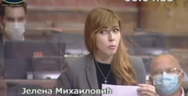 OPA, U SKUPŠTINI SAD POČELO I REPOVANJE Mlada poslanica SPS šokirala kolege, ali i šefa Dačića (VIDEO)