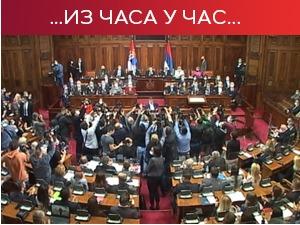 Brnabićeva izložila program vlade – otvorena rasprava u parlamentu