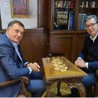 Vučić i Dodik o izgradnji aerodroma u Trebinju