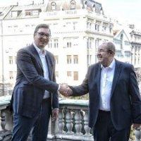 Vučić sa Pastorom: Odličan razgovor o budućnosti Srbije i srpsko-mađarskim odnosima
