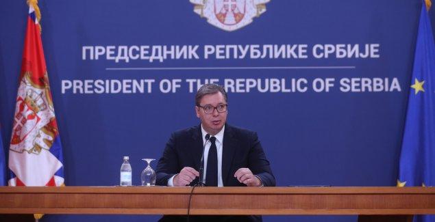 PREDSEDNIK SRBIJE POSLAO PODRŠKU AUSTRIJI Vučić: Srbija čvrsto uz vašu zemlju u ovim izazovnim vremenima